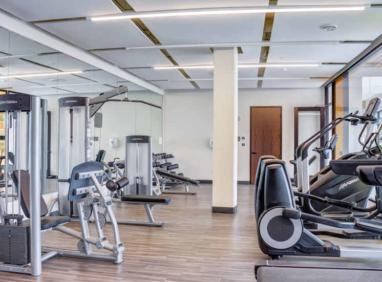 Fully Equipped Fitness Center at Central Park West