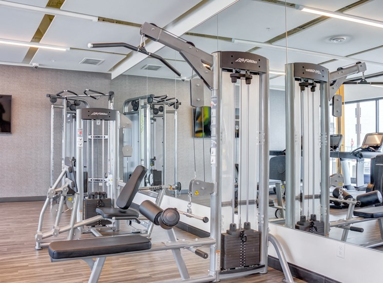 Modern Fitness Center at Central Park West