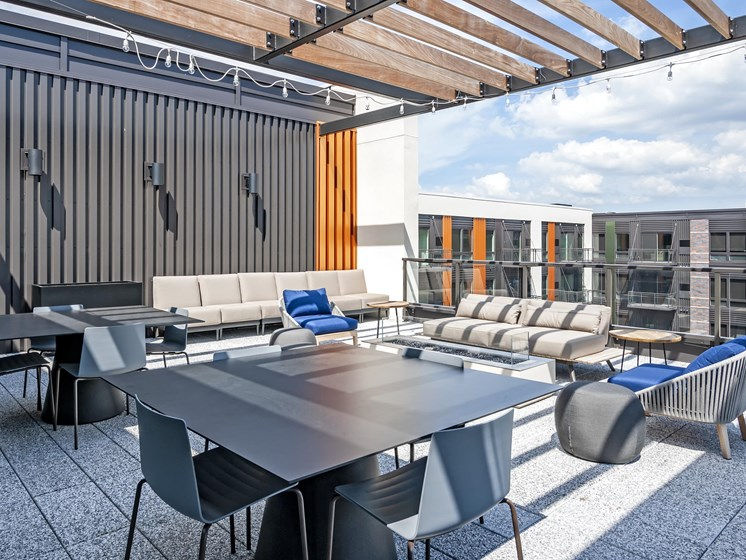 Rooftop Sundecks with Gorgeous Views  at Central Park West, St Louis Park, MN, 55416