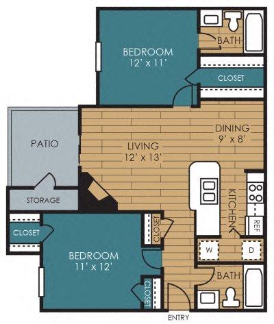 Hampton Floor Plan 6