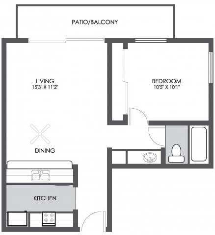 One Bedroom Apartments In Phoenix Boulder Creek 1 Bedroom Featured Homes For Rent In