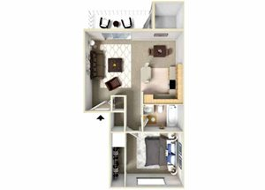 One Bedroom Apartments atFairwood Apartments l Apartments in Coeur D\