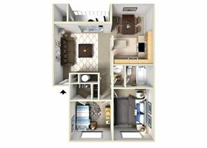 Two Bedroom Apartments at Fairwood Apartments l Apartments in Coeur D\