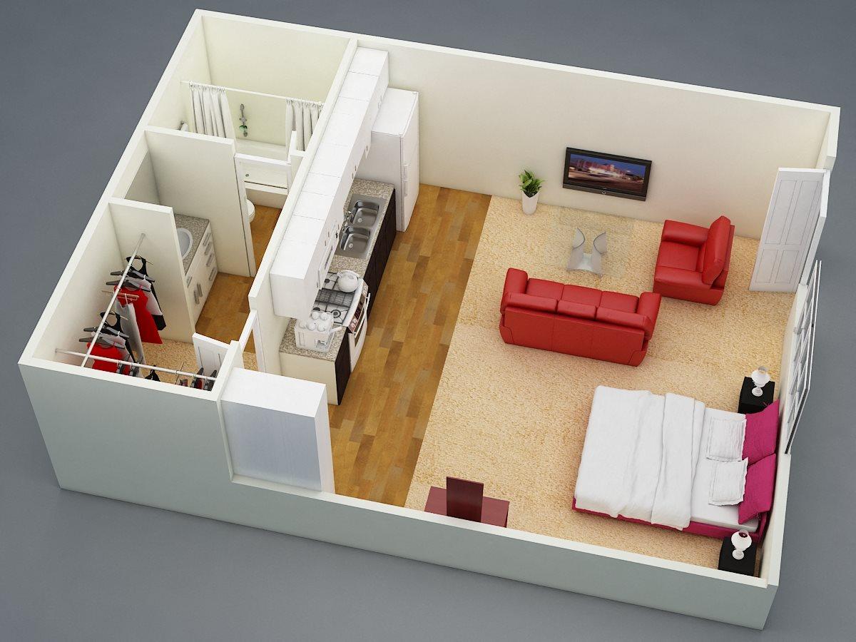 Efficiency Floor Plan 1
