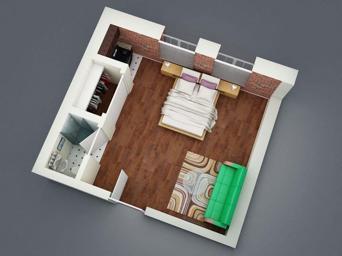 Guest   A1 Floor Plan 1