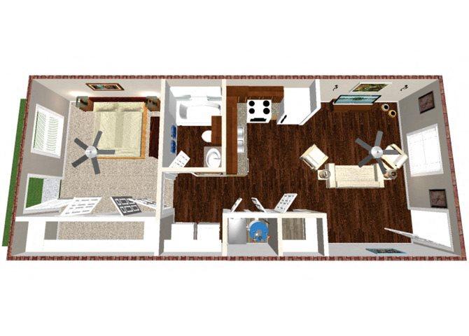 The Matador Floor Plan 1