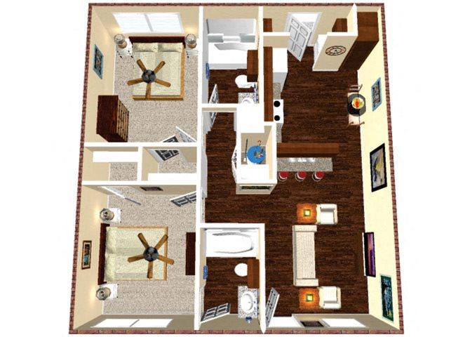 The Raider Floor Plan 2