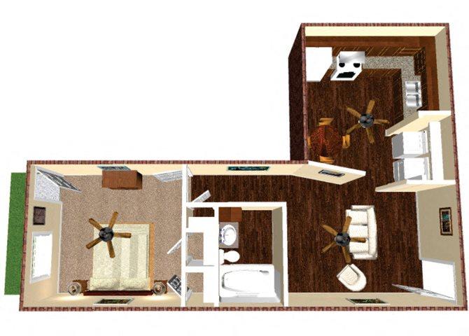 The Caprock Floor Plan 2