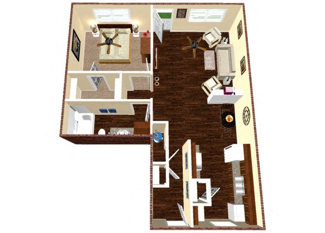 The Llano Floor Plan 3