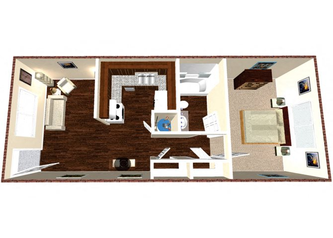 The Prairie Floor Plan 1