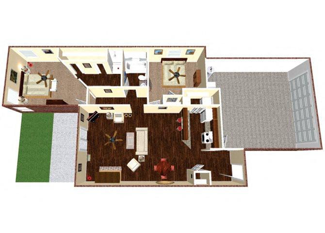 The Manor Floor Plan 2