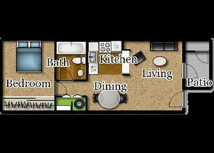 One Bedroom | One Bath
