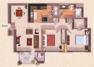 B1 | Two Bedroom