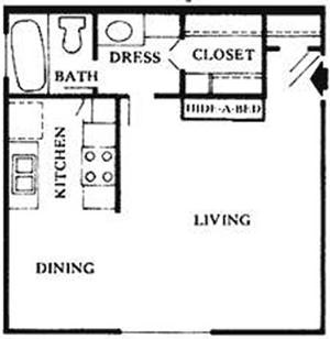 A | Studio Apartment