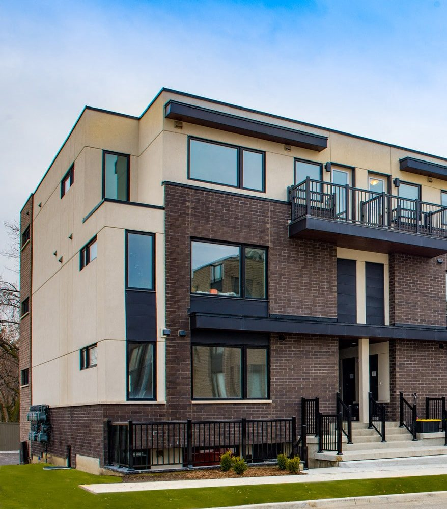 Exterior Shot Downsview Park Townhomes