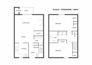 Plan D Townhome
