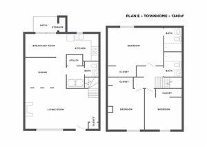 Plan E Townhome