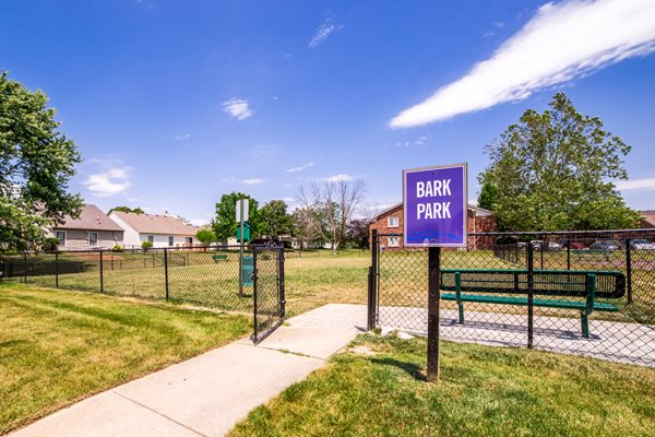 Northlake Village Apartments is a pet friendly community with onsite bark park