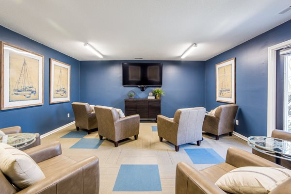 Comfortable Theater Room- Nothlake Village Apartments