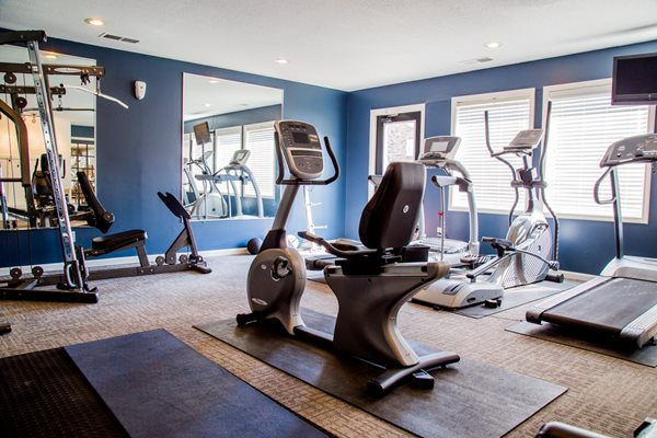 24-Hour Fitness Center- Northlake Village Apartments
