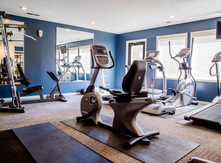 24 Hour Fitness Center at Northlake Village Apartments