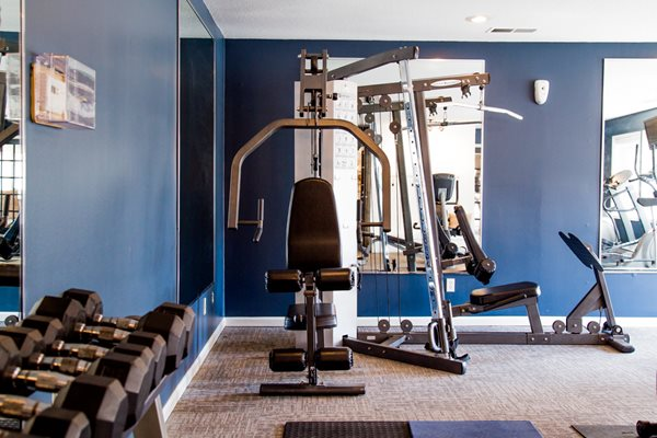 24-Hour Fitness Center at Northlake Village Apartments