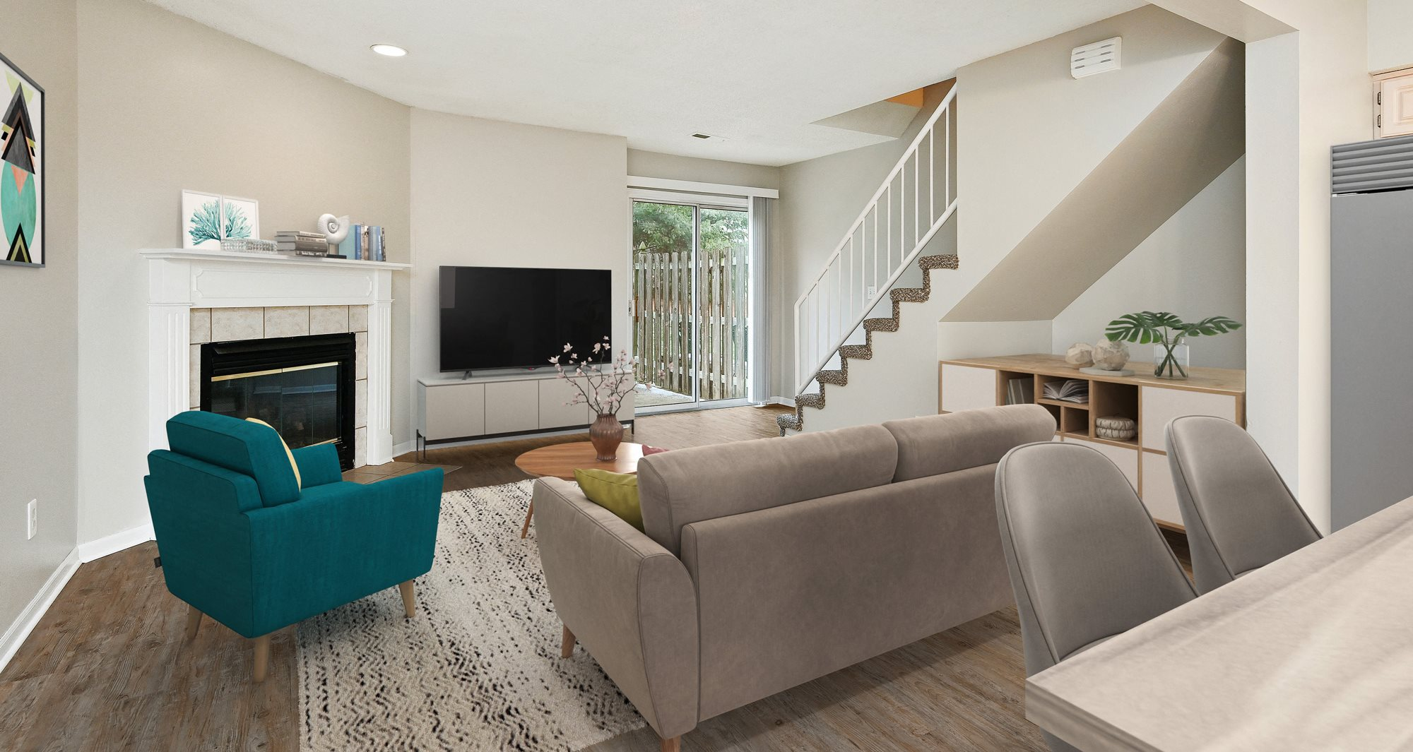 Timbercreek East Townhomes Apartments In Blue Springs Mo