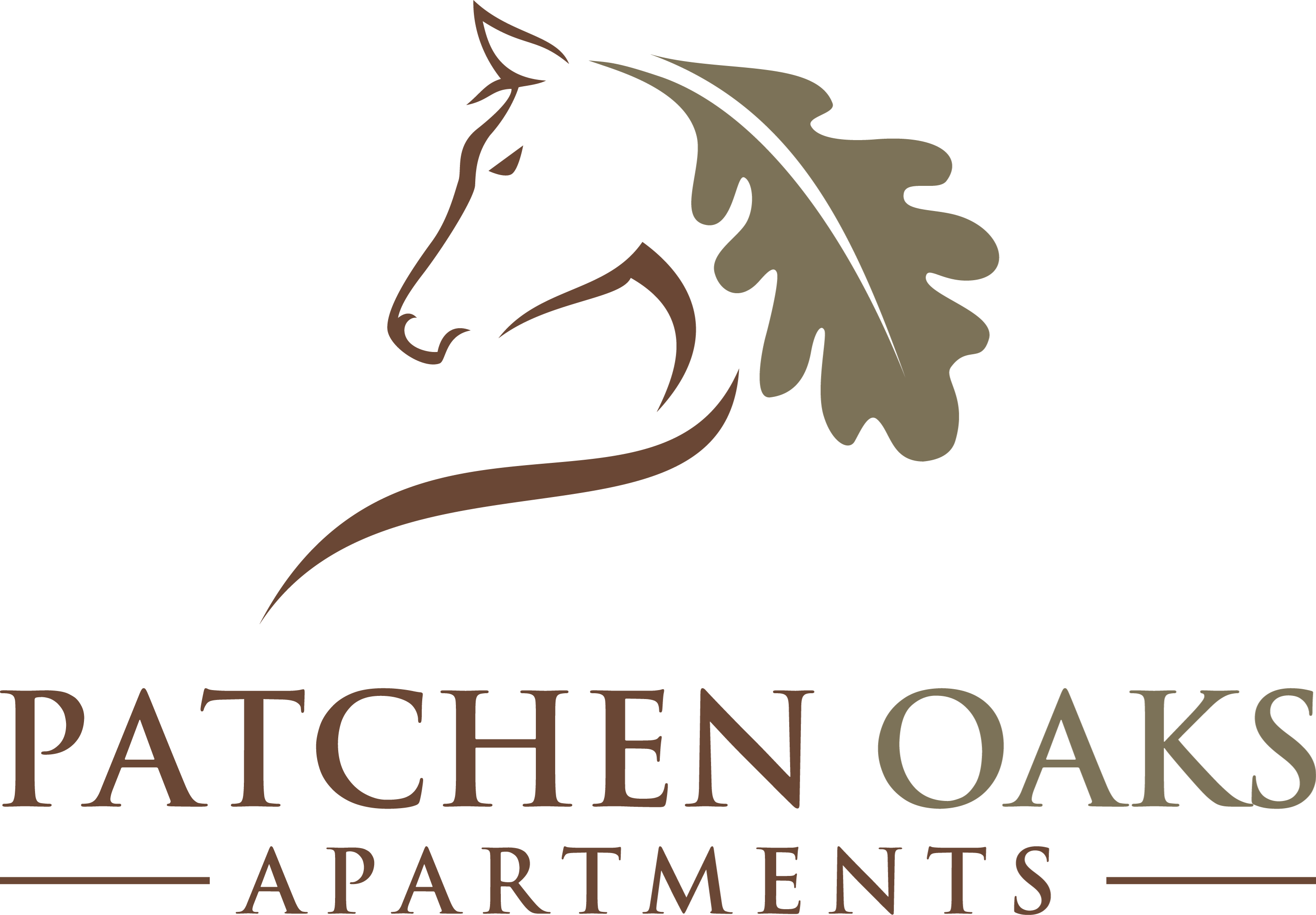 Patchen Oaks Logo