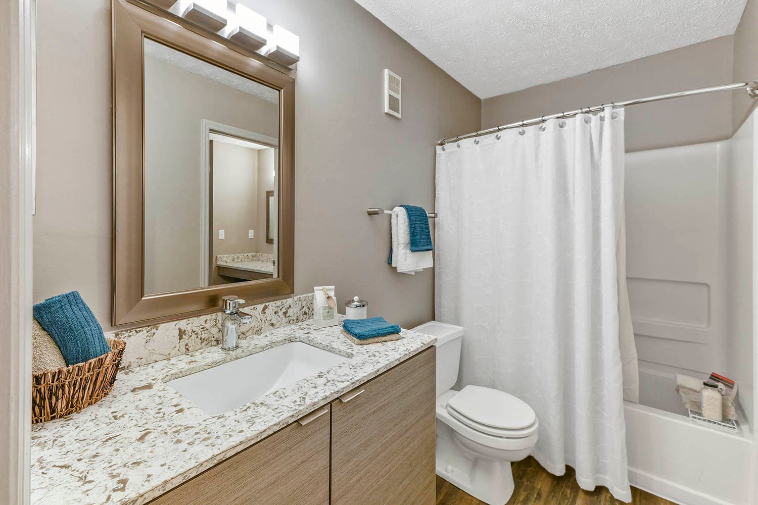Spa Inspired Bathrooms at Patchen Oaks Apartments, Lexington, KY