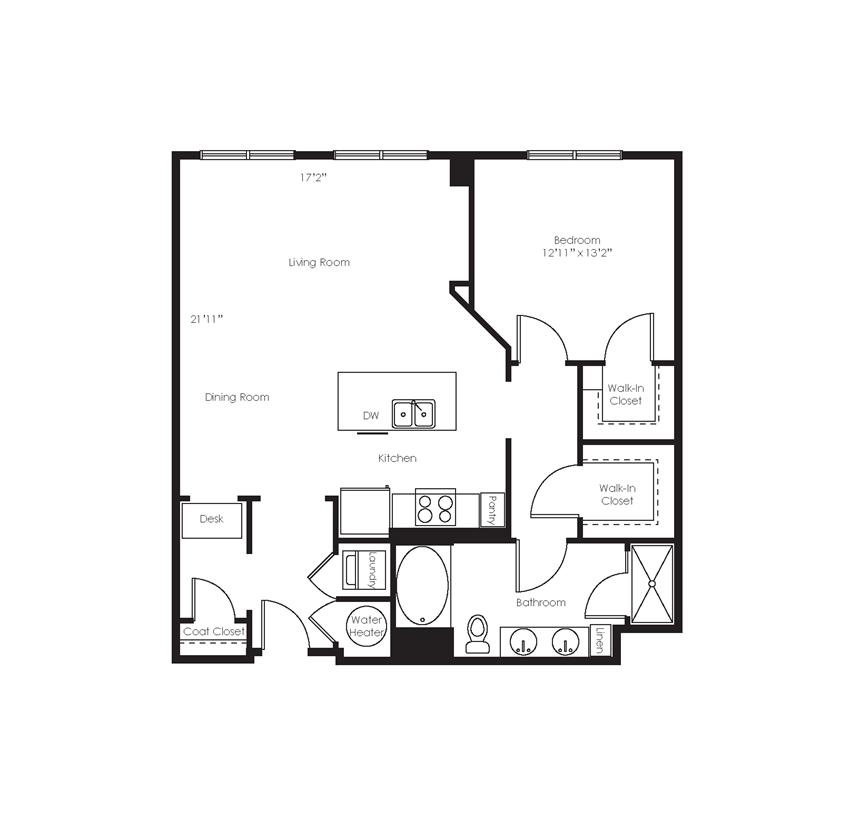 A10 Floorplan Gables Arsenal Street