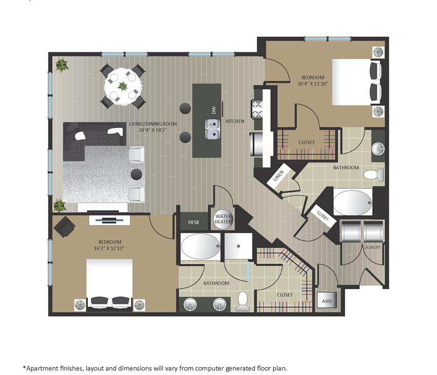 Gables Arsenal Street B7 Floorplan