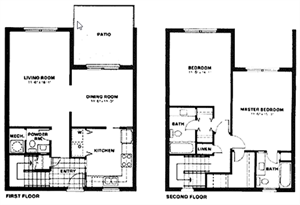 Two Bed Room / Townhouse