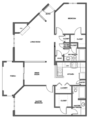 Small Two Bedroom