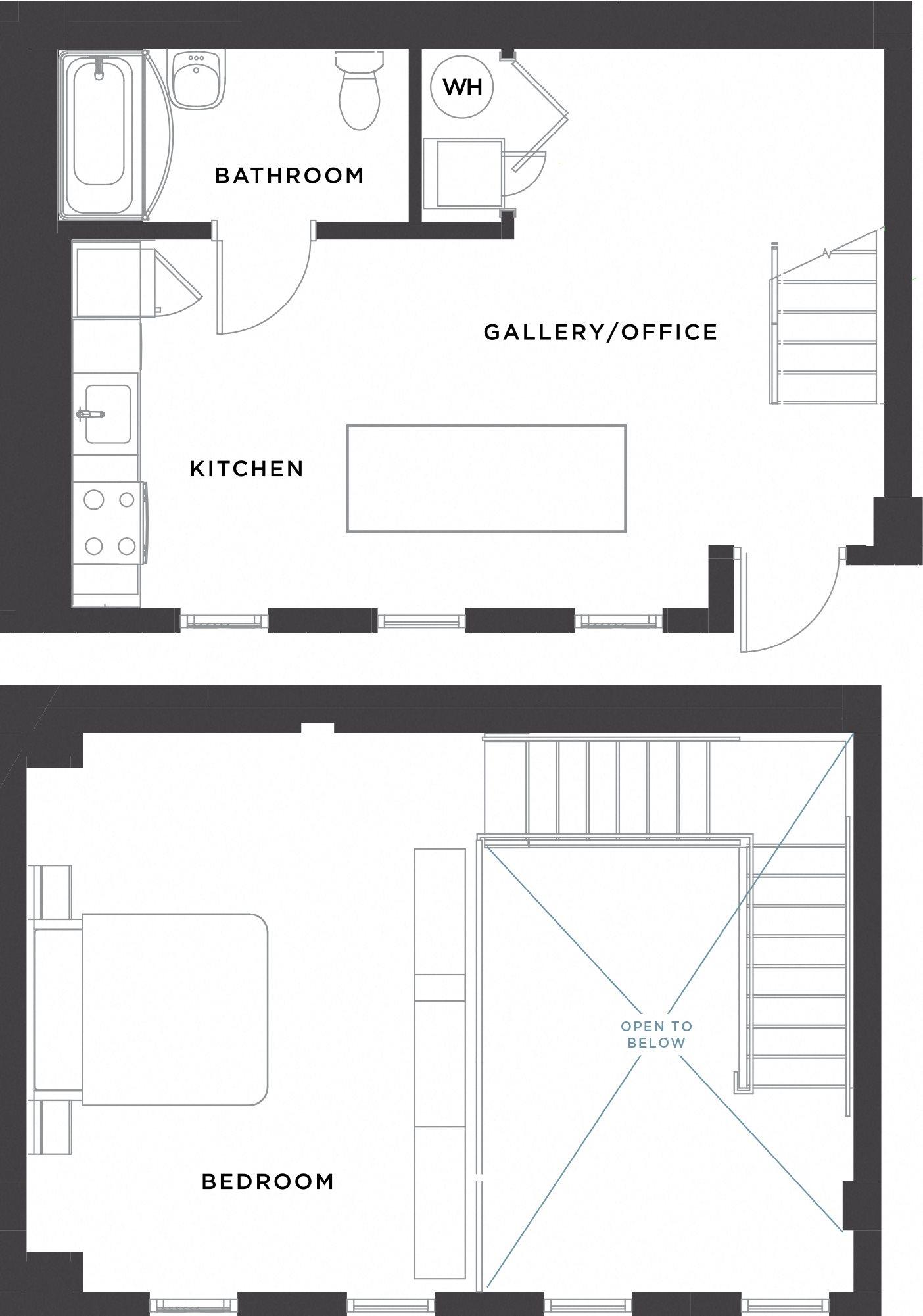 Live/Work Floor Plan 5