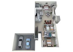 Belmont - Two Car Garage