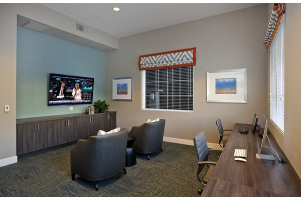 Fully Equipped Business Center, at Preserve at Melrose, 1401 North Melrose Drive, CA