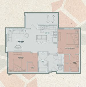 Mosaic at Levis Commons, Perrysburg, OH 2 Bedroom Apartments