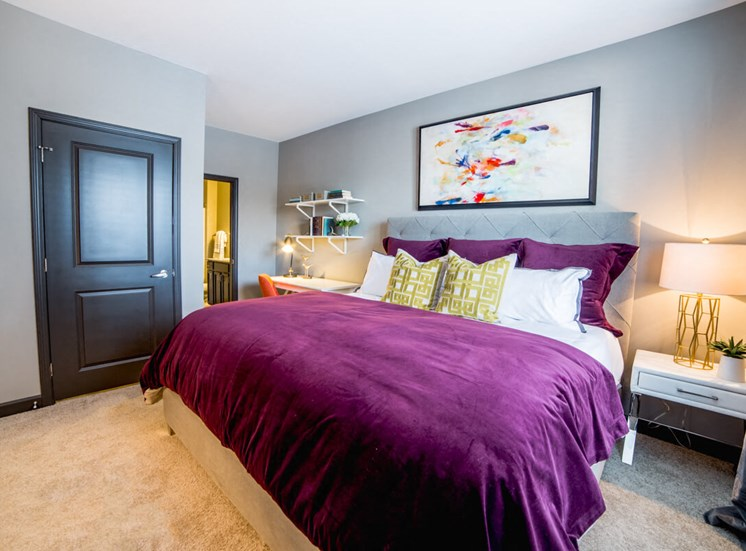 Spacious Bedrooms Mosaic at Levis Commons Apartments in Perrysburg, OH near Toledo
