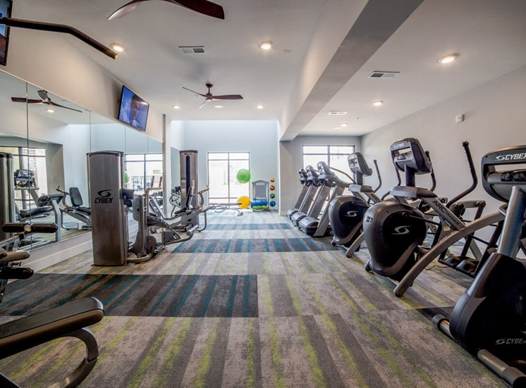 Fitness Center Mosaic at Levis Commons Apartments in Perrysburg, OH near Toledo