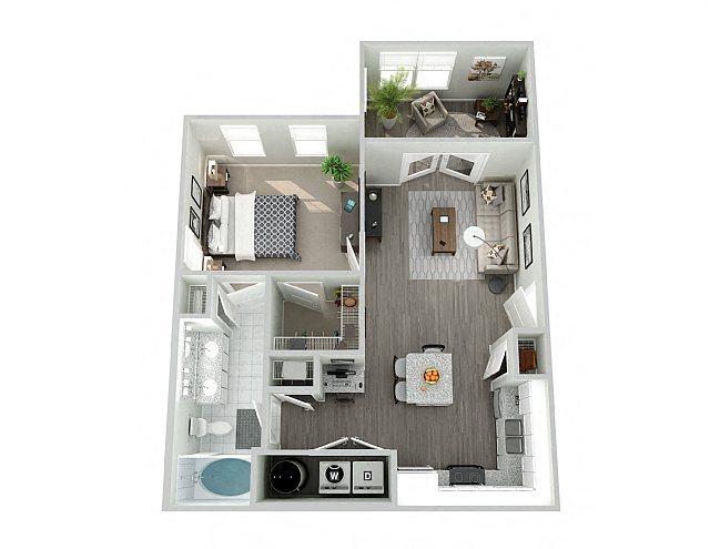 A1SUN Floor Plan 2