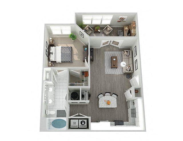 A2SUN Floor Plan 4
