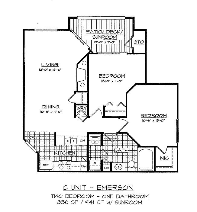 The Emerson Floor Plan 3
