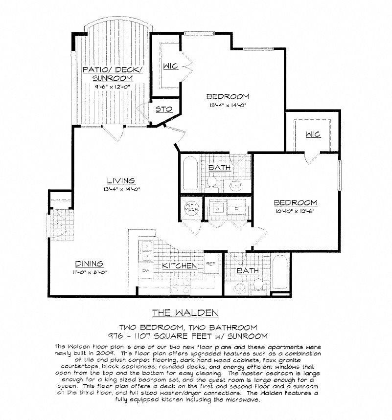 The Walden Floor Plan 5