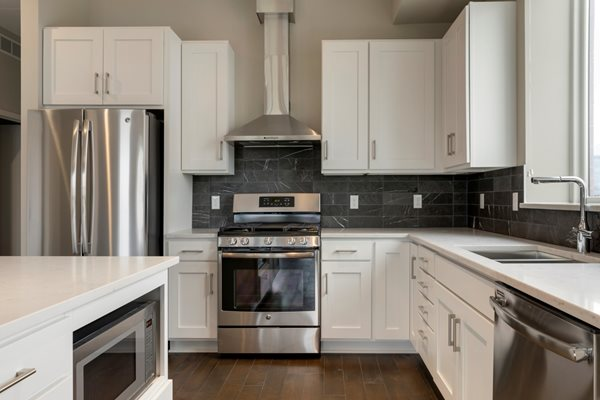 White Cabinetry at The M on Hennepin, Minneapolis, 55414