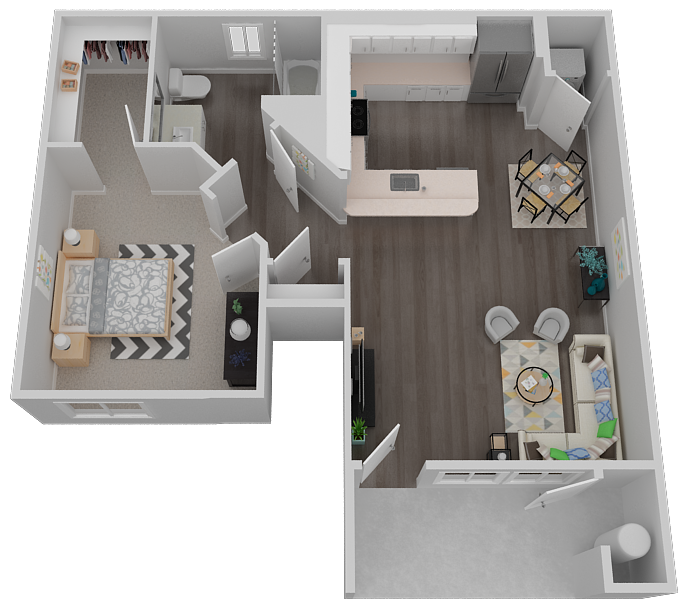 Tesoro Floor Plan 1