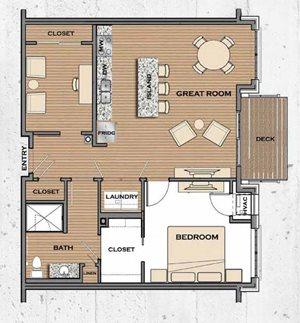Floor plan at Victoria Flats, Victoria, MN 55386