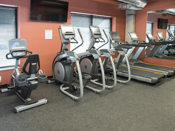 State-of-the-Art Fitness Center at Victoria Flats