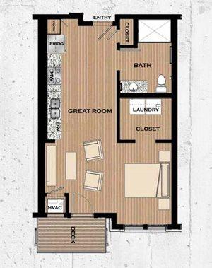 Floor plan at Victoria Flats, Minnesota, 55386
