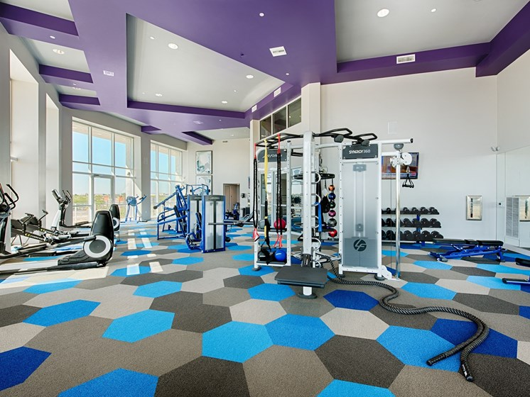 Full fitness center