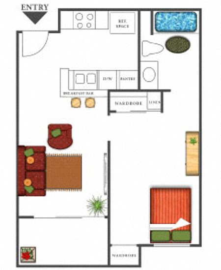 Augusta National Floor Plan 1